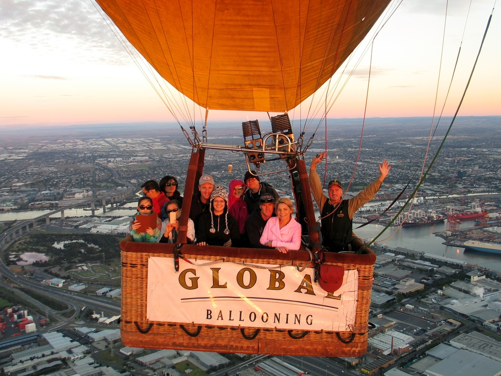 Over melbourne picture of global ballooning melbourne and yarra - Mar 12 2015 Melbourne Brian Garth