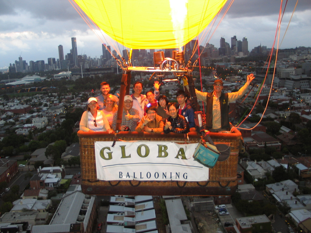 Over melbourne picture of global ballooning melbourne and yarra - Feb 8 2016 Melbourne Nicolas Pedro Brau