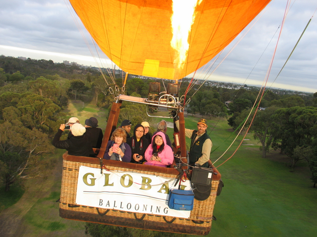Over melbourne picture of global ballooning melbourne and yarra - Feb 20 2016 Melbourne Tim Steiner