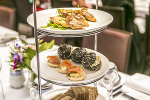 The Clarke Sisters' high tea at InterContinental