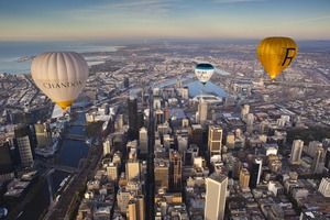 Midweek Melbourne Private Balloon Flight for 2 people with Champagne Breakfast