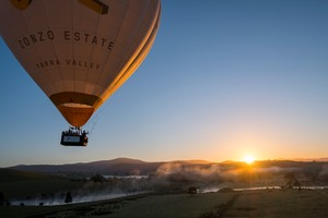 Midweek Yarra Valley Private Balloon Flight for 4 people ($498.75pp)