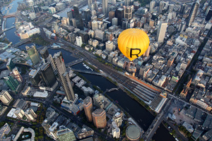 Midweek Melbourne Private Balloon Flight for 4 with Champagne Breakfast