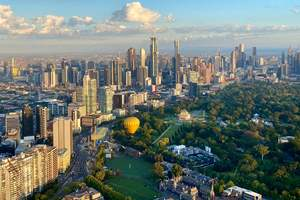 Melbourne Private Balloon Flight for 8 with Champagne Breakfast