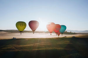 Midweek Mansfield Private Balloon Flight for 4 people ($498.75pp)