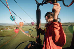 Mansfield Private Balloon Flight for 6 with Champagne Breakfast
