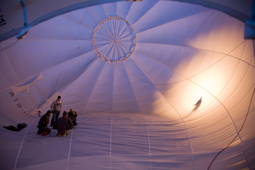 Global Ballooning Australia was the chosen ballooning operator to feature...