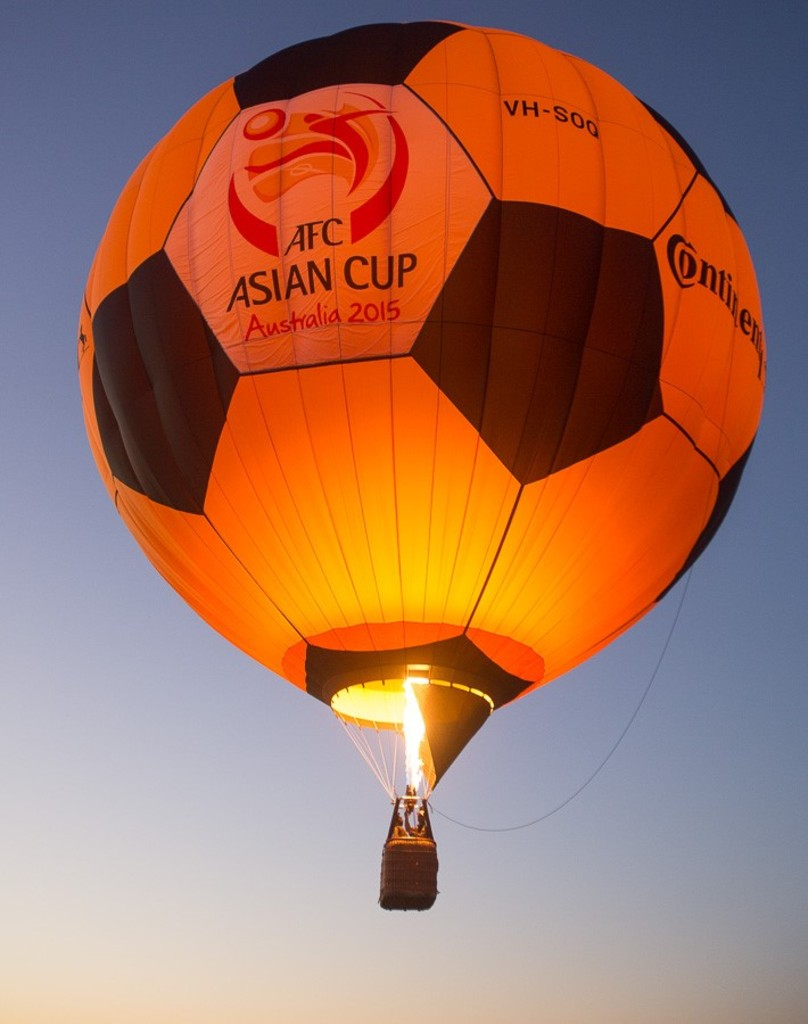 AFC Asian Cup Balloon 2015