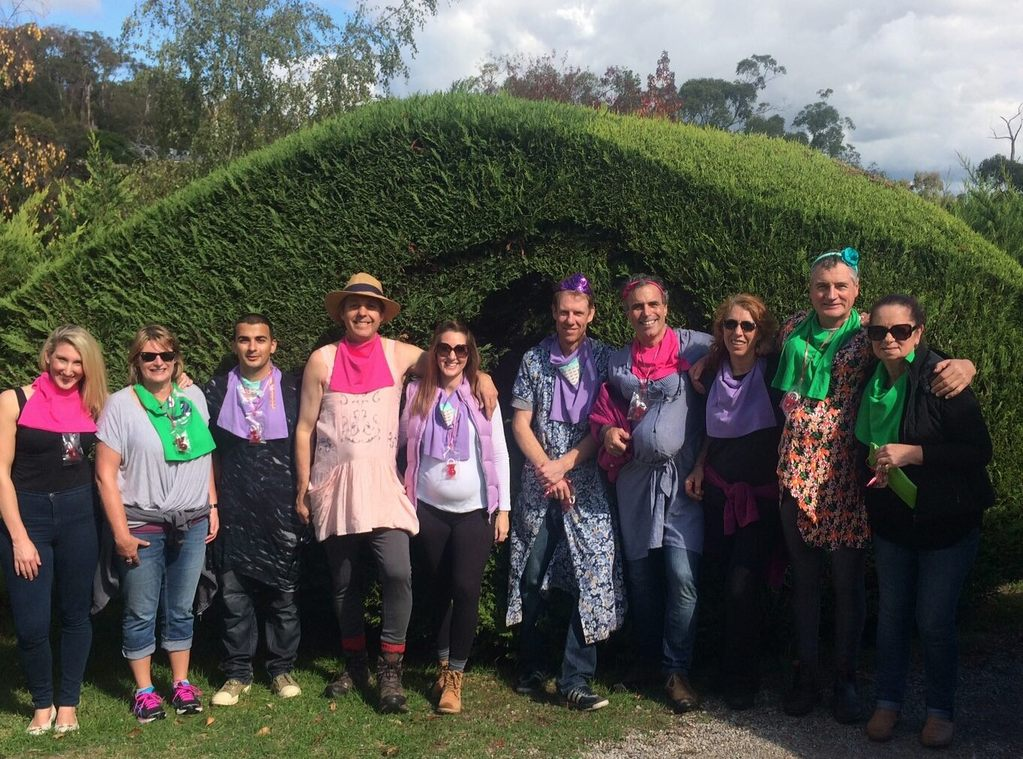'Baby Shower' Amazing Race in style at Hedgend Maze
