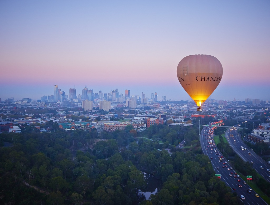 Over melbourne picture of global ballooning melbourne and yarra - Melbourne Melbourne Melbourne Melbourne Melbourne Melbourne