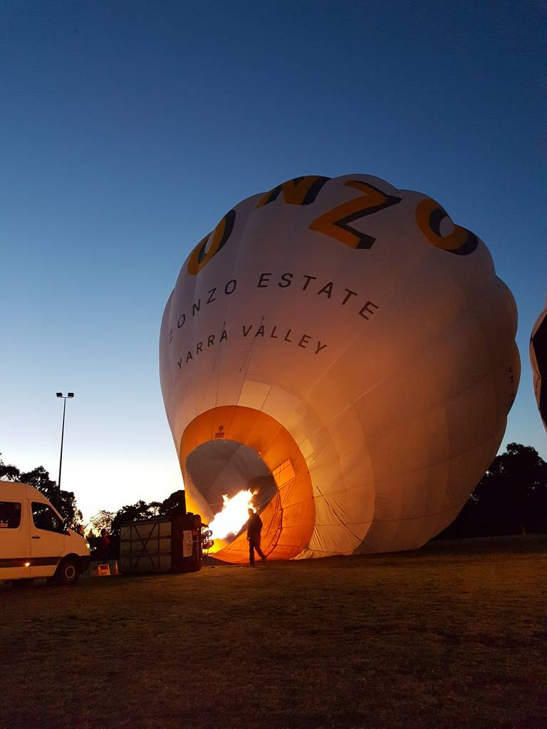 Over melbourne picture of global ballooning melbourne and yarra - Melbourne Hot Air Ballooning A Photographer S Paradise