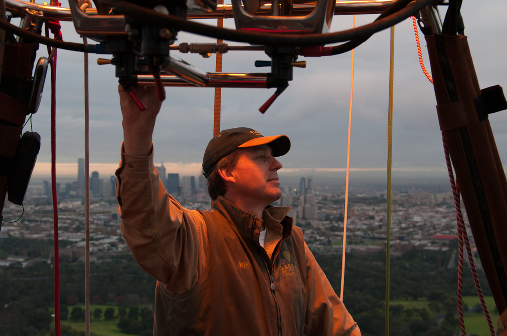 "WIN THIS FOR DAD... ""A day in the life of a Balloon Pilot"""
