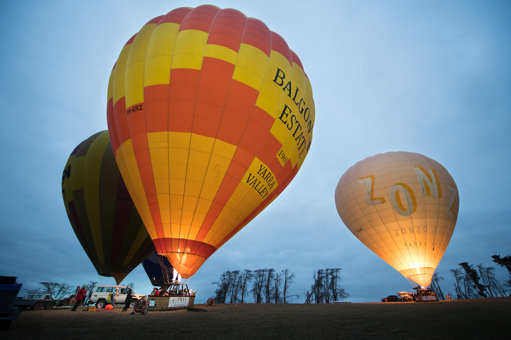 The art of Photographing Hot Air Balloons