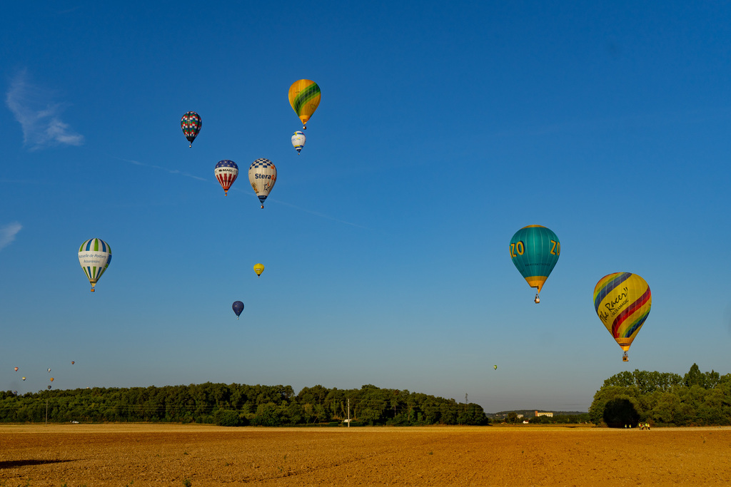 A Day in the Life of a Ballooning Team - Coupe d'Europe