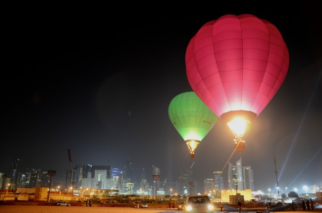 2011 Asian Cup in Qatar - Global Ballooning