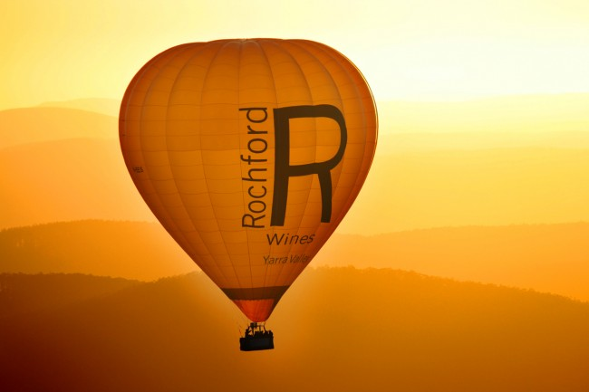 Rochford Wines balloon