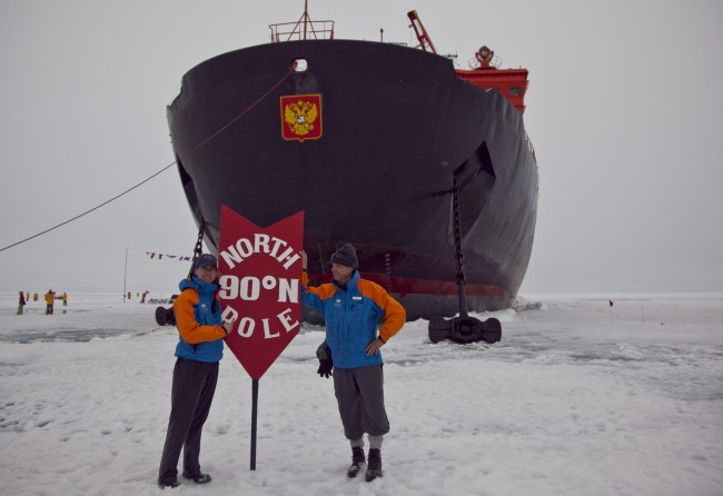 Kiff's adventure to the North Pole - Global Ballooning