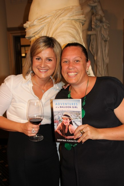 Adventures of a Balloon Girl - Book Launch  - Global Ballooning