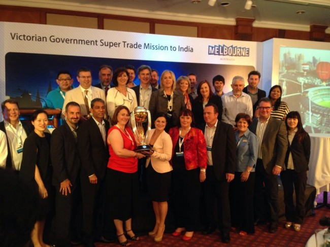 Victorian Government Super Trade Mission to India - Global Ballooning