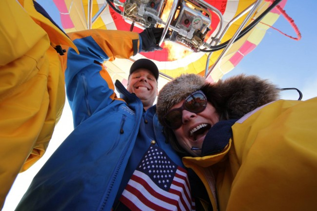 North Pole Expedition 2014 - Global Ballooning