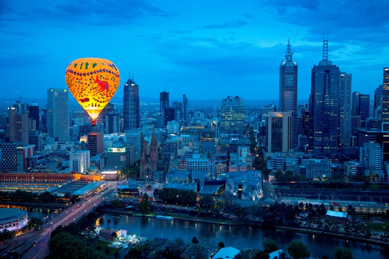 Top 10 'THINGS TO DO' for under $5 before or after your Balloon Flight in Melbourne.